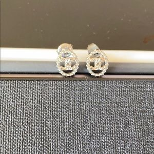 Chanel CC Logo Vintage Earrings
